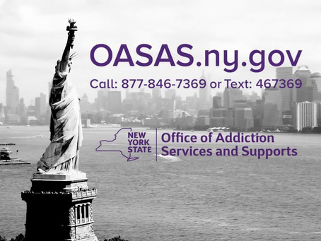 Help for alcohol, substance use and problem gambling is available across New York State.