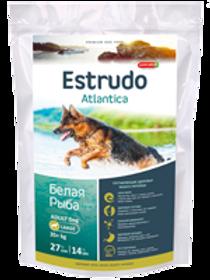 Estrudo Atlantica (Белая рыба) для взрослых собак крупных пород склонных к ал.