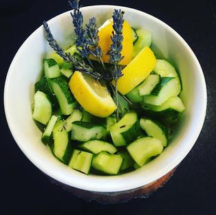 Lavender+Cucumber+Lemon