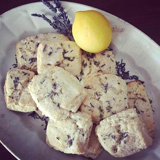 Lavender+Lemon Shortbread