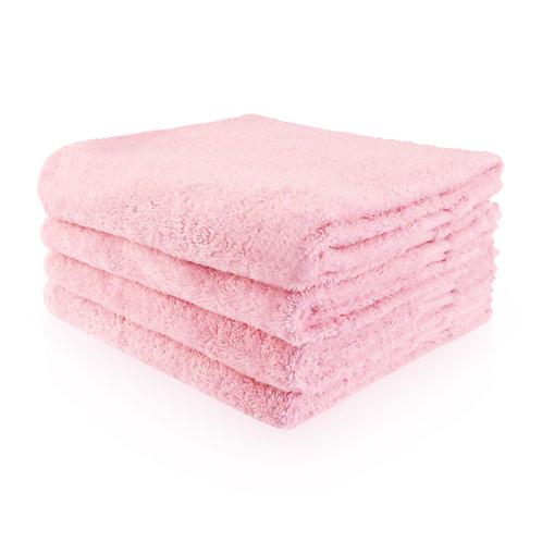 Handdoek roze