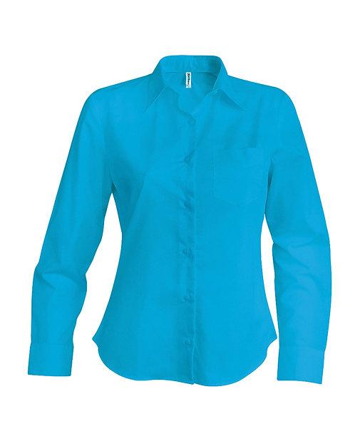 Overhemd dames met lange mouwen K549