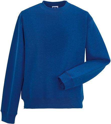 Sweatshirt met ingezetten mouwen RUSSEL
