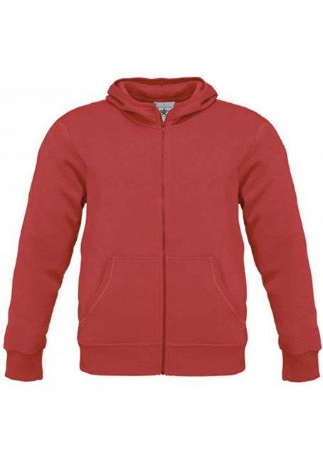 Sweatshirt met capuchon B&C