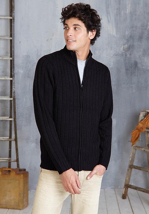 Pullover vest met rits KARIBAN