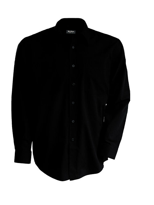 Overhemd heren met lange mouwen K545