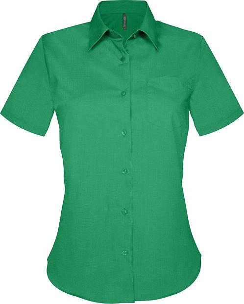 Overhemd dames met korte mouwen KARIBAN