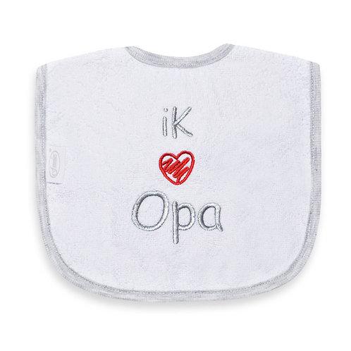 Slabber I love opa