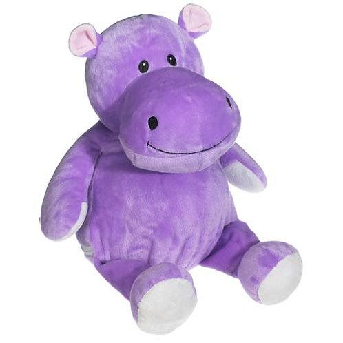 Pluche knuffel Nijlpaard - Tekst op Buik