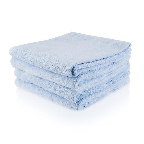 Handdoek ijsblauw