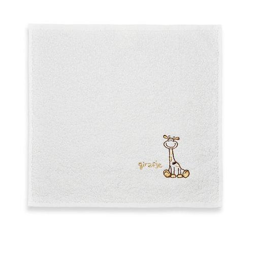 Spuugdoekje giraf bruin