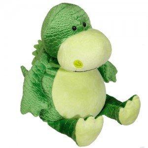 Pluche knuffel Dino - Tekst op Buik