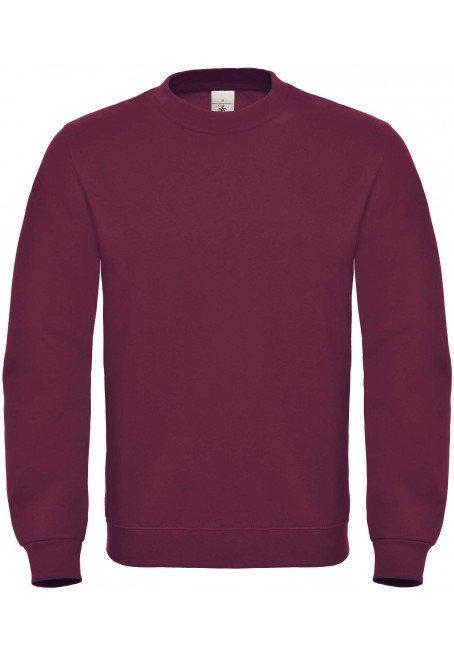 Sweatshirt met ronde hals B&C