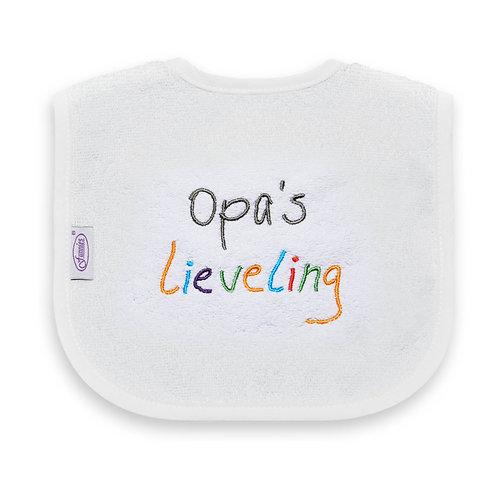 Slabber opa's Lieveling