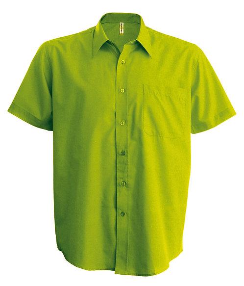 Overhemd heren met korte mouwen KARIBAN
