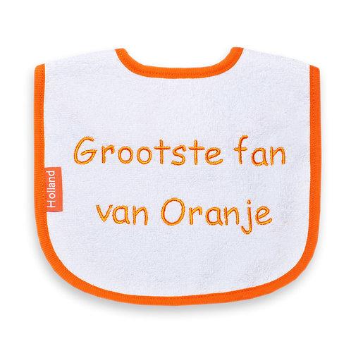 Slabber grootste fan van oranje