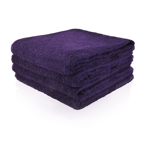 Handdoek paars