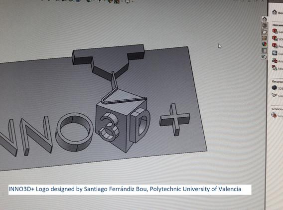 INN03D Logo design by Santiago Ferrandiz