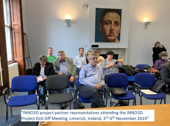 INNO3D Project Kick Off Meeting Group Ph