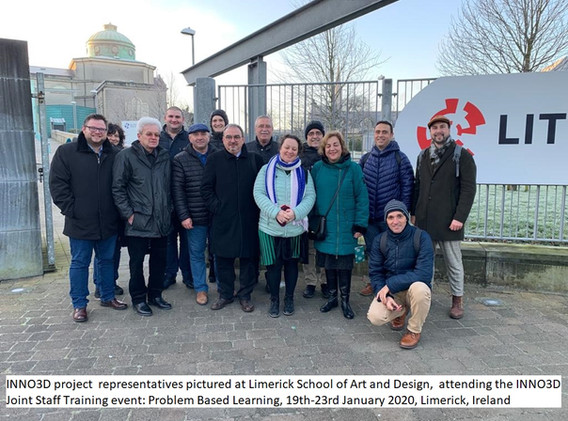 INNO3D project representatives pictured