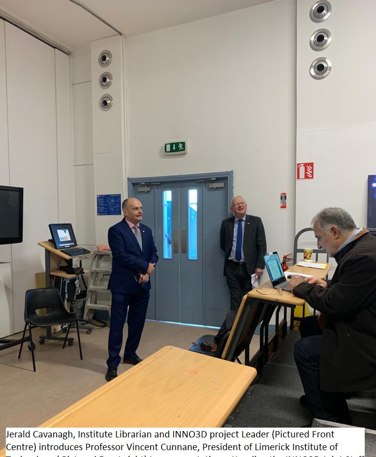 Jerald Cavanagh introduces LIT President