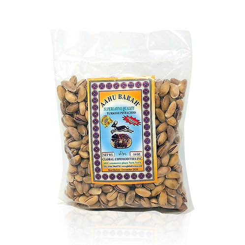 Turkish Pistachio Aahu Barah 14oz