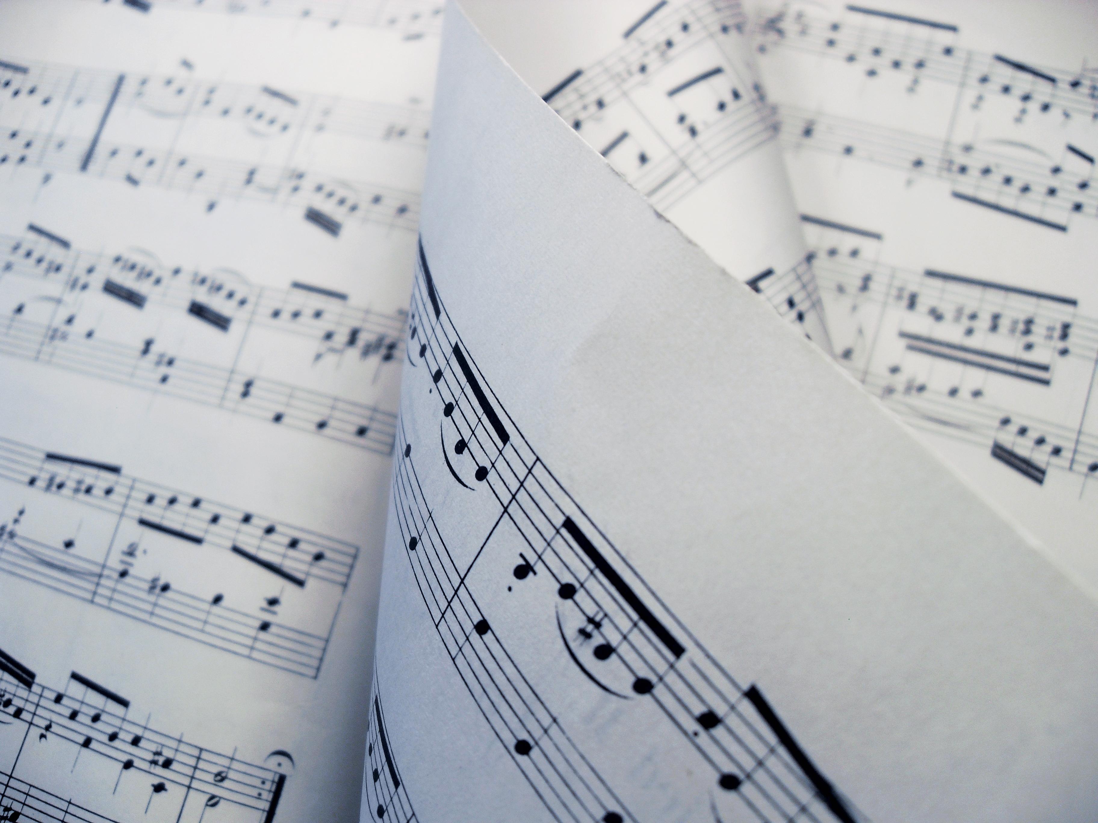 Musique en feuille