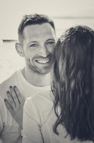 Fotoshooting Paarfotos Schwarz-Weiß