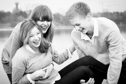 Familienfotos authentisch
