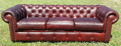 leather couch Chaise