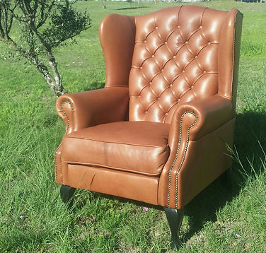 leather chair Bistro
