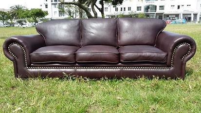 leather couch Atlanta armchair