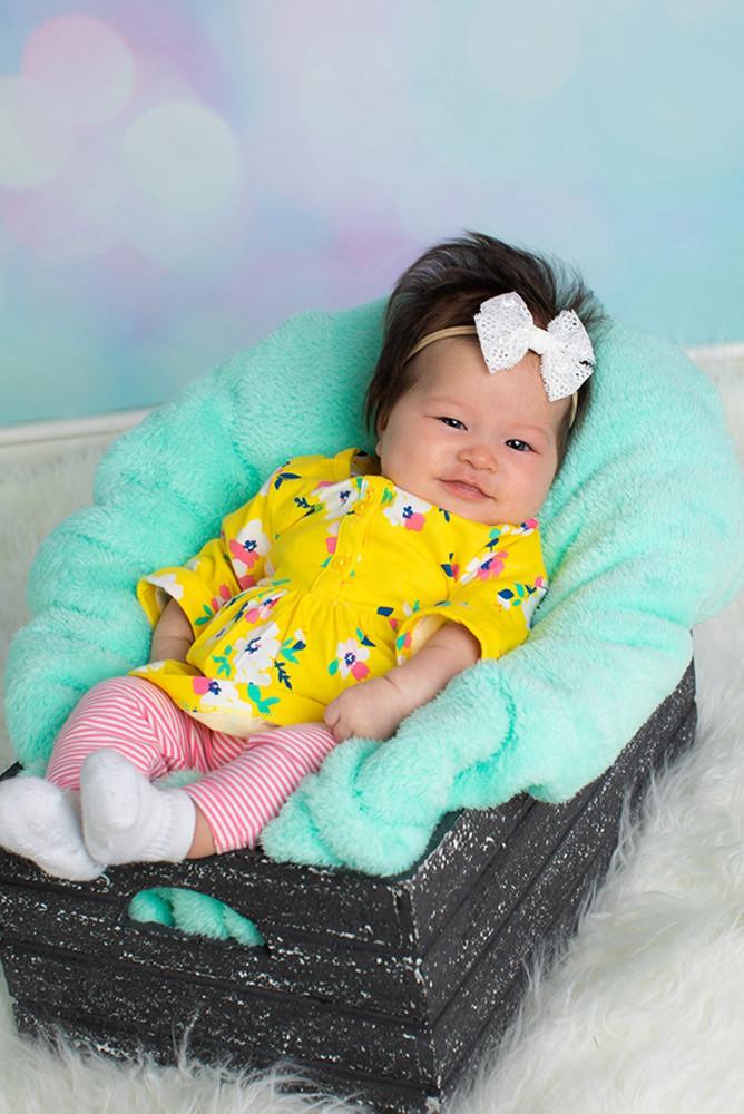 Spring baby photo