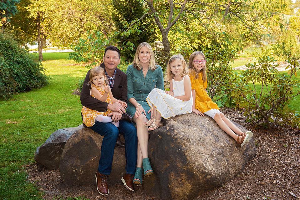 Vandeveer family portraits
