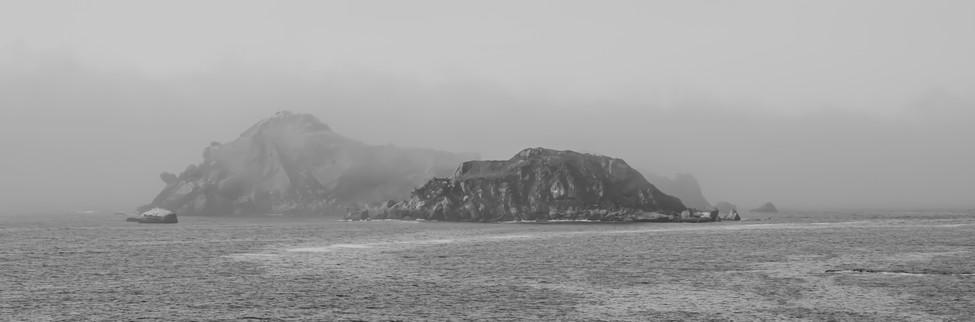 Fish Rocks in Fog