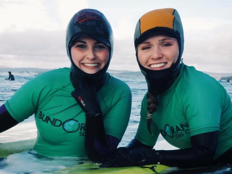 Surfing with Bundoran Surf Co.