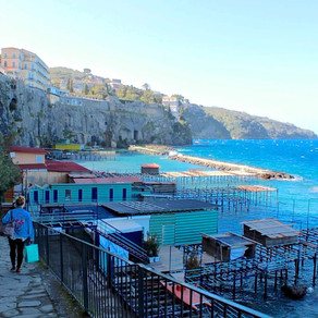 Behind the Scene: Sorrento's Coastal Cliffs