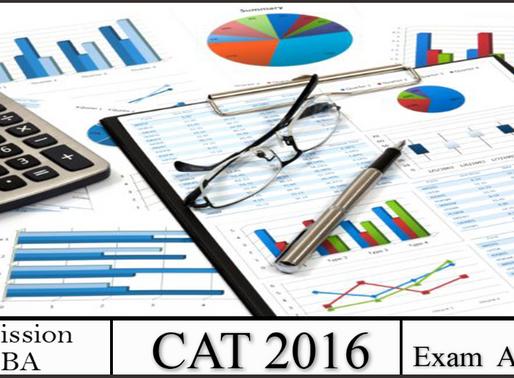 CAT 2016 Exam Analysis
