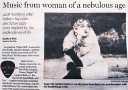 Great Aunt Ruth makes News