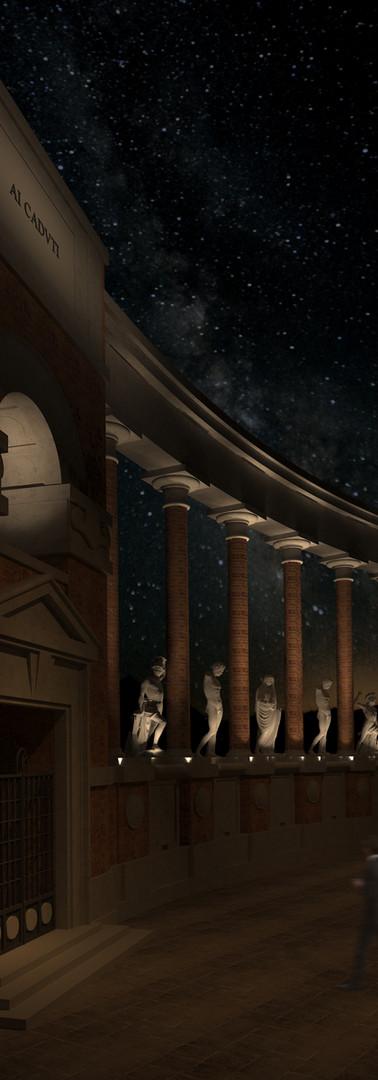 Monumento ai Caduti di Macerata - dettaglio