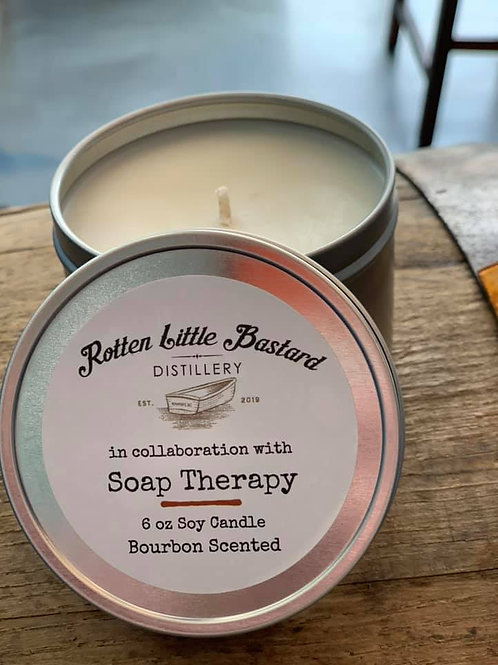 Candle - Bourbon scented