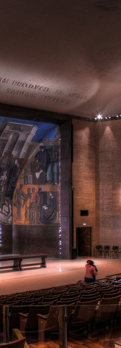 Aula Magna de La Sapienza - lighting design