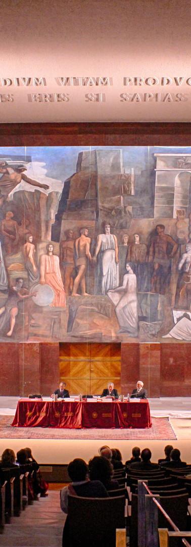 Aula Magna de La Sapienza di Roma