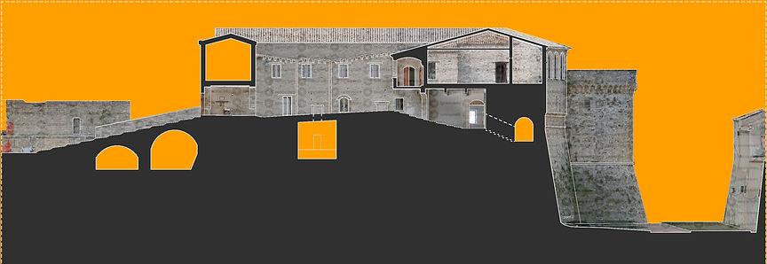 Sezione ricavata da modello otogrammetric