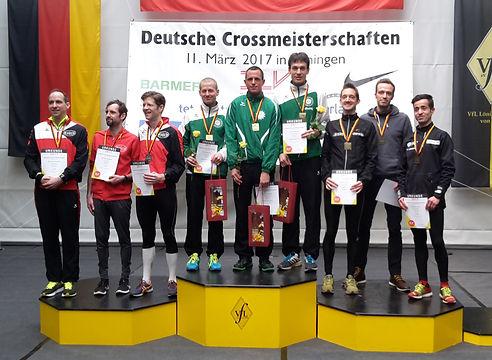 Deutscher Meister beim Crosslauf