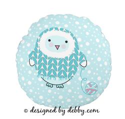 Itty Bitty Snowbird Pillow