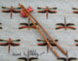 Dragonflies Classic Orient pattern in the Japanese Garden Collection.