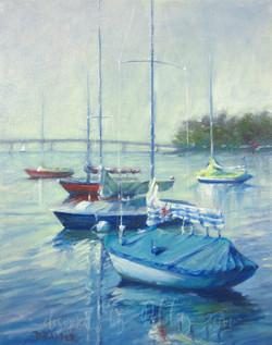 2. Sailboats on Whiterock