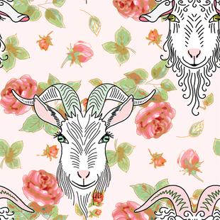 Goats & Roses