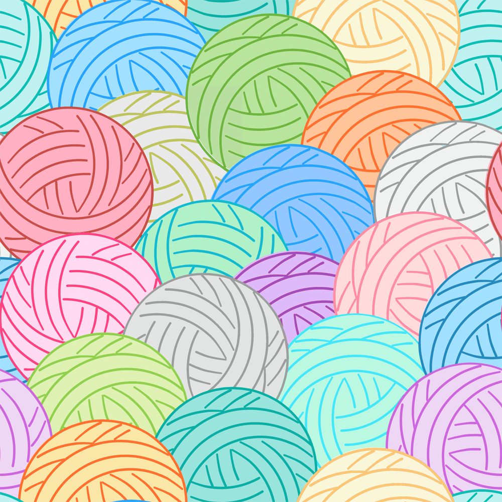 Balls of Yarn- Multi